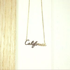 """Jewelry - """"California"""" State Necklace"""
